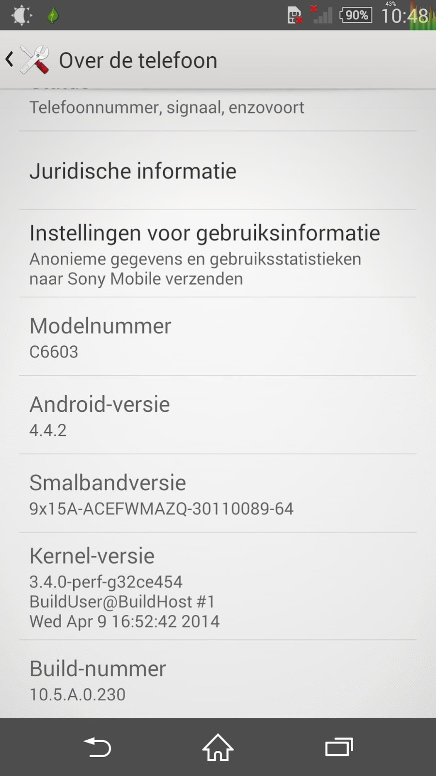 Screenshot_2014-05-24-10-48-38 Stock C66XX Android 4.4 KitKat Update To 10.5.A.0.230 Root + XZDR Apps
