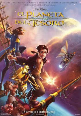 Treasure Planet 2002 DVD R1 NTSC Latino