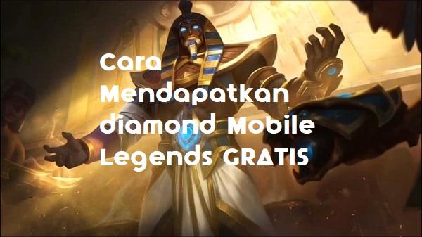 Game Mobile Legends memang merupakan game yang lagi disukai kaya orang Cara Mendapatkan Diamond Mobile Legends Gratis &Simple