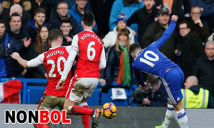 Cuplikan Gol Arsenal 2-2 Chelsea | Liga Inggris Pekan 22