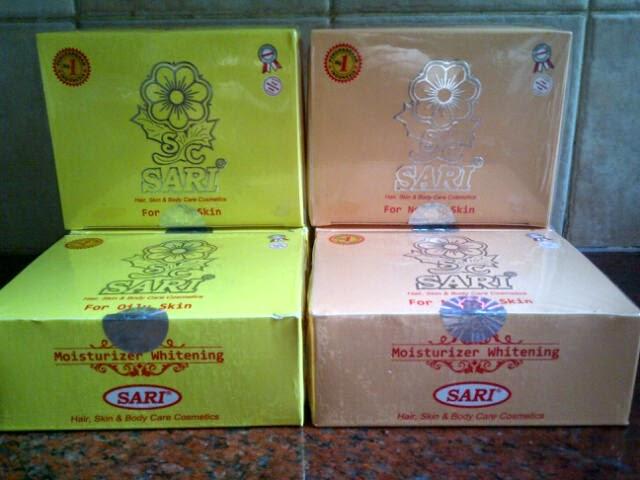 JUAL CREAM SARI 100% ASLI (Old Pack)