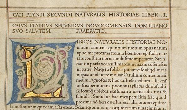 Pliny the Elder, Natural History