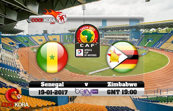 مشاهدة مباراة السنغال وزيمبابوي اليوم كأس أمم أفريقيا 19-1-2017 علي بي أن ماكس
