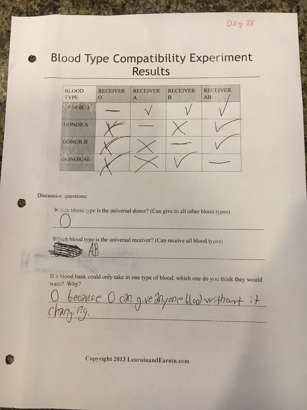 Is Your Blood Type Compatible