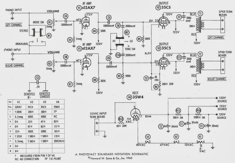 Robert S Tech Blog Archer Stereodyne 3 Amplifier Clone