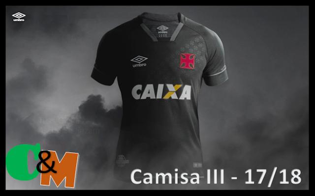 VASCO da GAMA - Nova Camisa III para 2017 ... 18 06030e2f8bd07