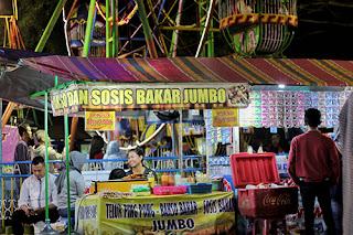 Lapak - Lapak Jajanan Pasar Rakyat Ambarawa