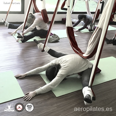 AERO PILATES INTERNATIONAL CURSOS YOGA PILATES COLUMPIO  OVIEDO ASTURIAS
