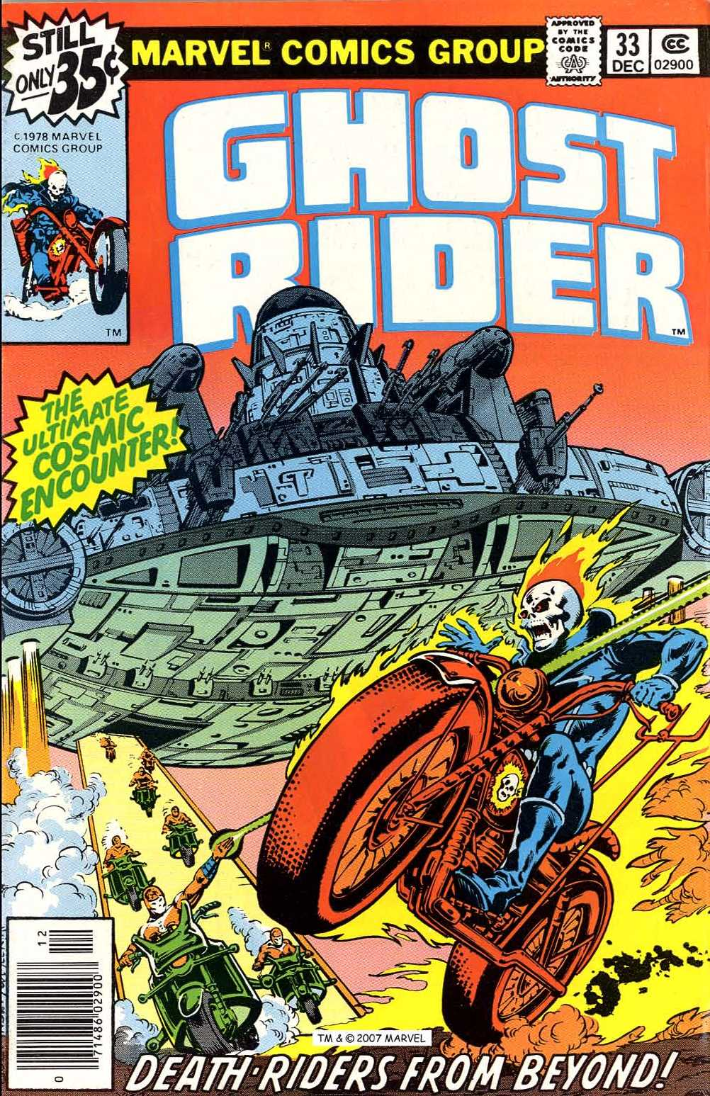 Ghost Rider (1973) issue 33 - Page 1