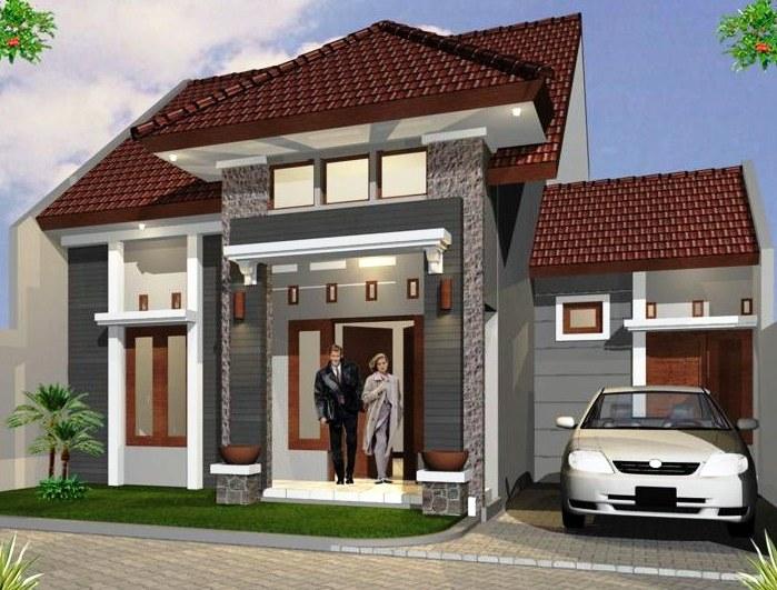 Desain Rumah Type 45 1 Lantai Minimalis