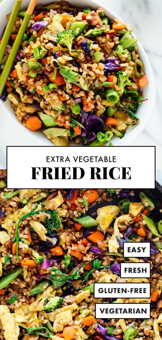 Extra Vegetable Fried Rice