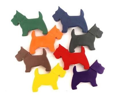 Dog Crayons
