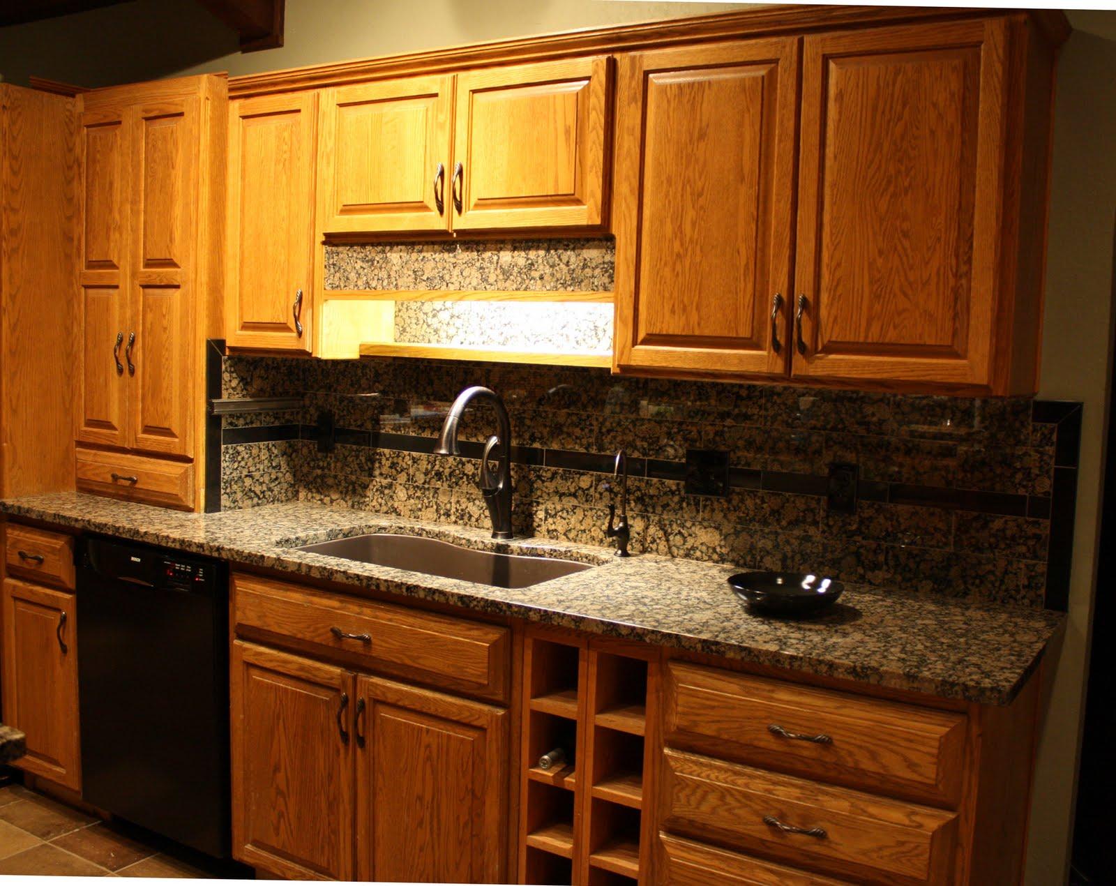 Ideas for Kitchen Backsplash with Granite