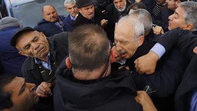 Şehit Cenazesinde Kılıçdaroğluna Yumruklu Saldırı