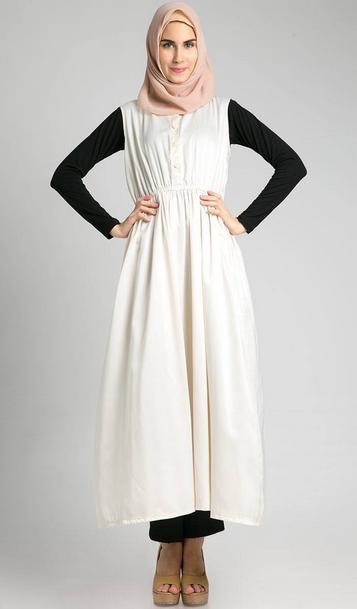 Contoh Model Baju Hamil Muslim Trendy