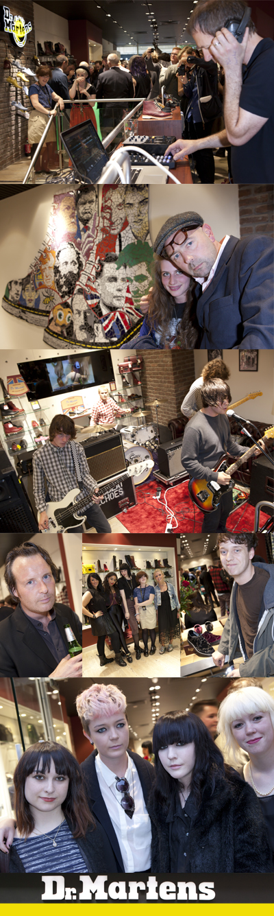 Dr Martens Manchester Launch Party by Jason Harry
