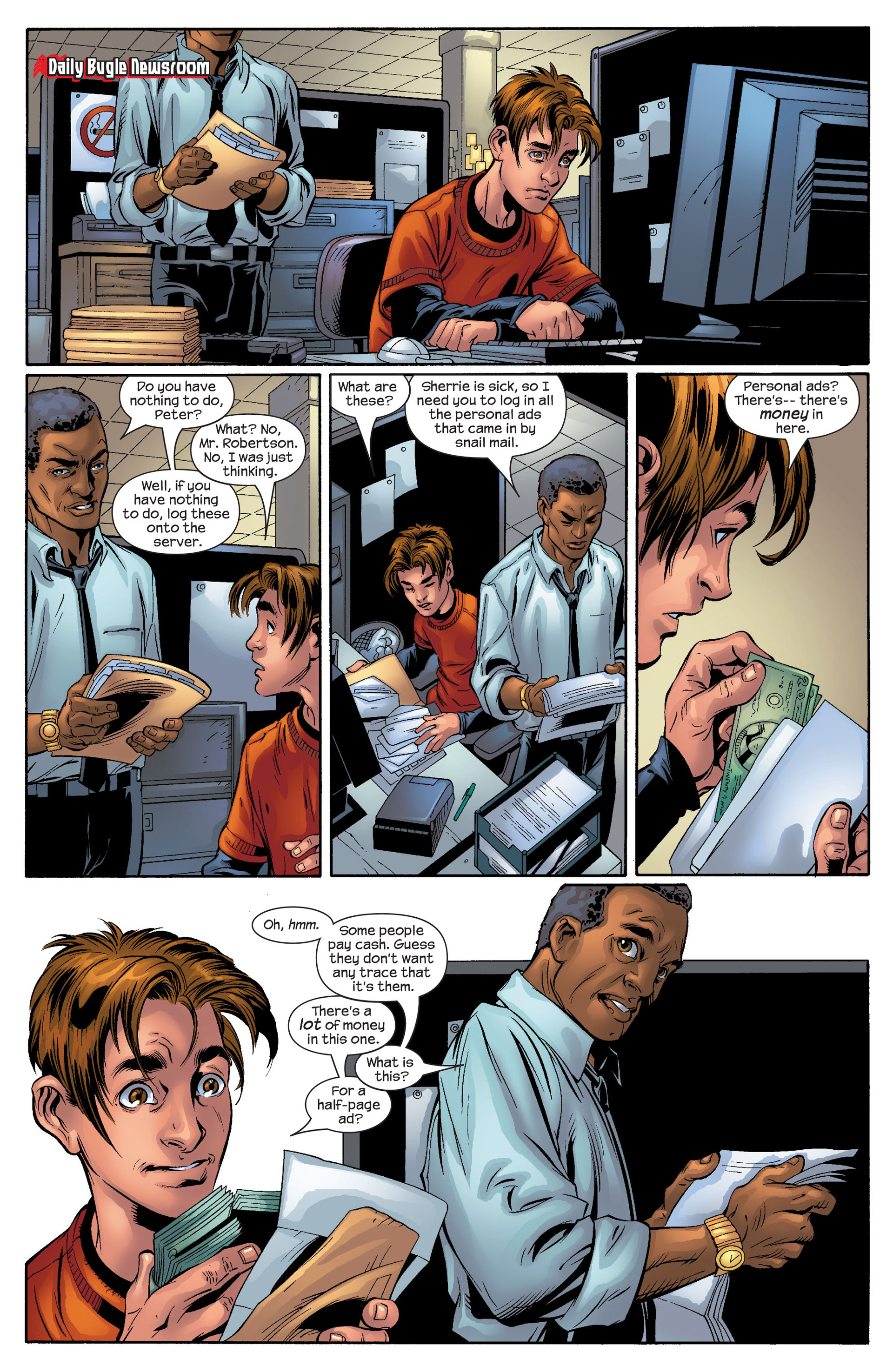 Read online Ultimate Spider-Man (2000) comic -  Issue #51 - 12