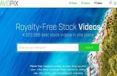AvoPix: servicio que permite descargar fotos, imágenes vectoriales y videos de forma gratuita