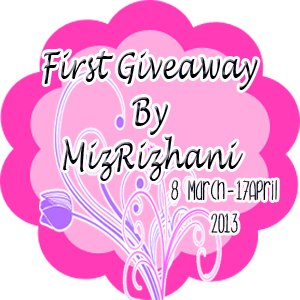 First Giveaway By Miz Rizhani