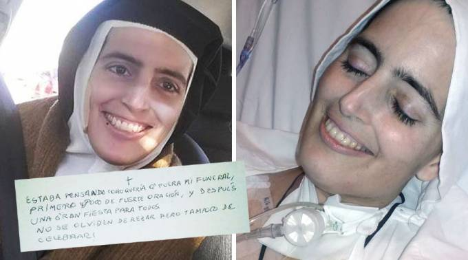 Catholic News World : #Nun Dies with Beautiful Smile and