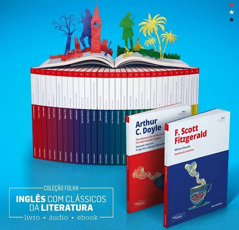 [COLEÇÕES FOLHA] INGLÊS COM CLÁSSICOS DA LITERATURA
