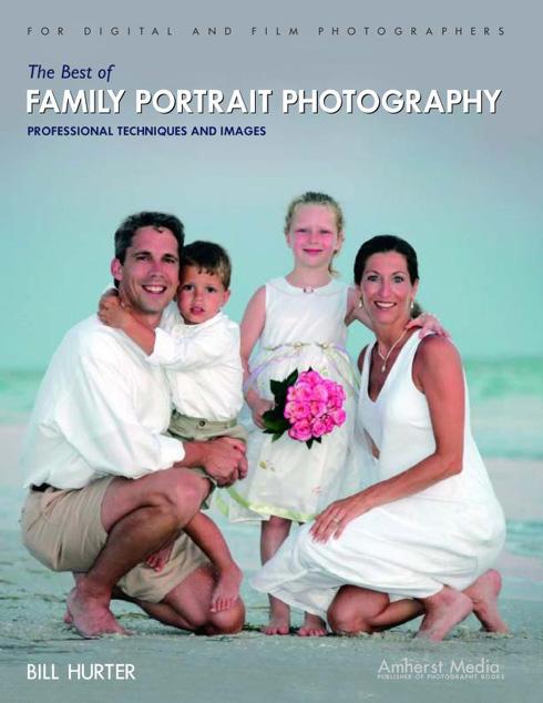 Portada libro: Los mejores retratos fotográficos de familias