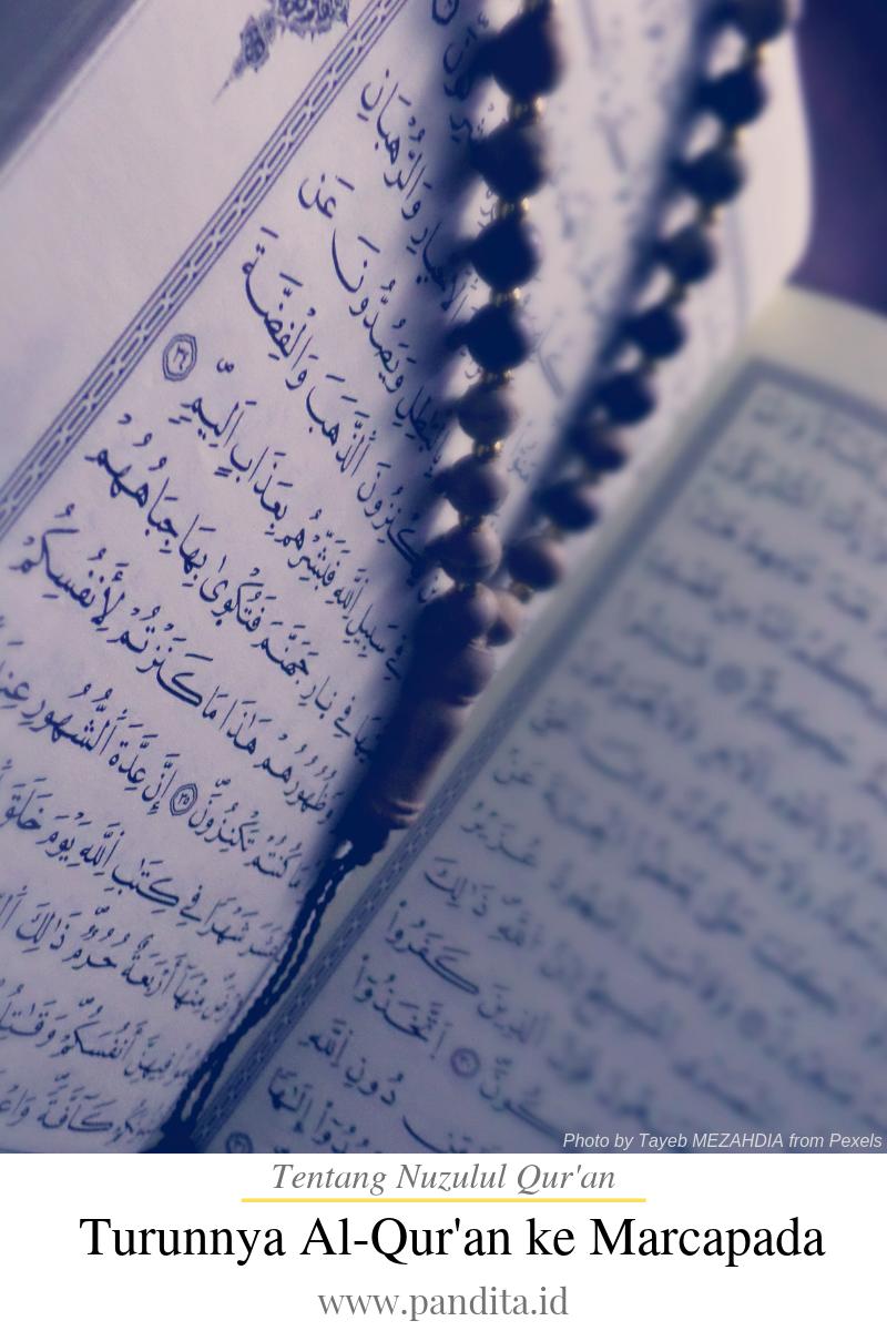 nuzulul qur'an - proses turunnya al-qur'an ke dunia