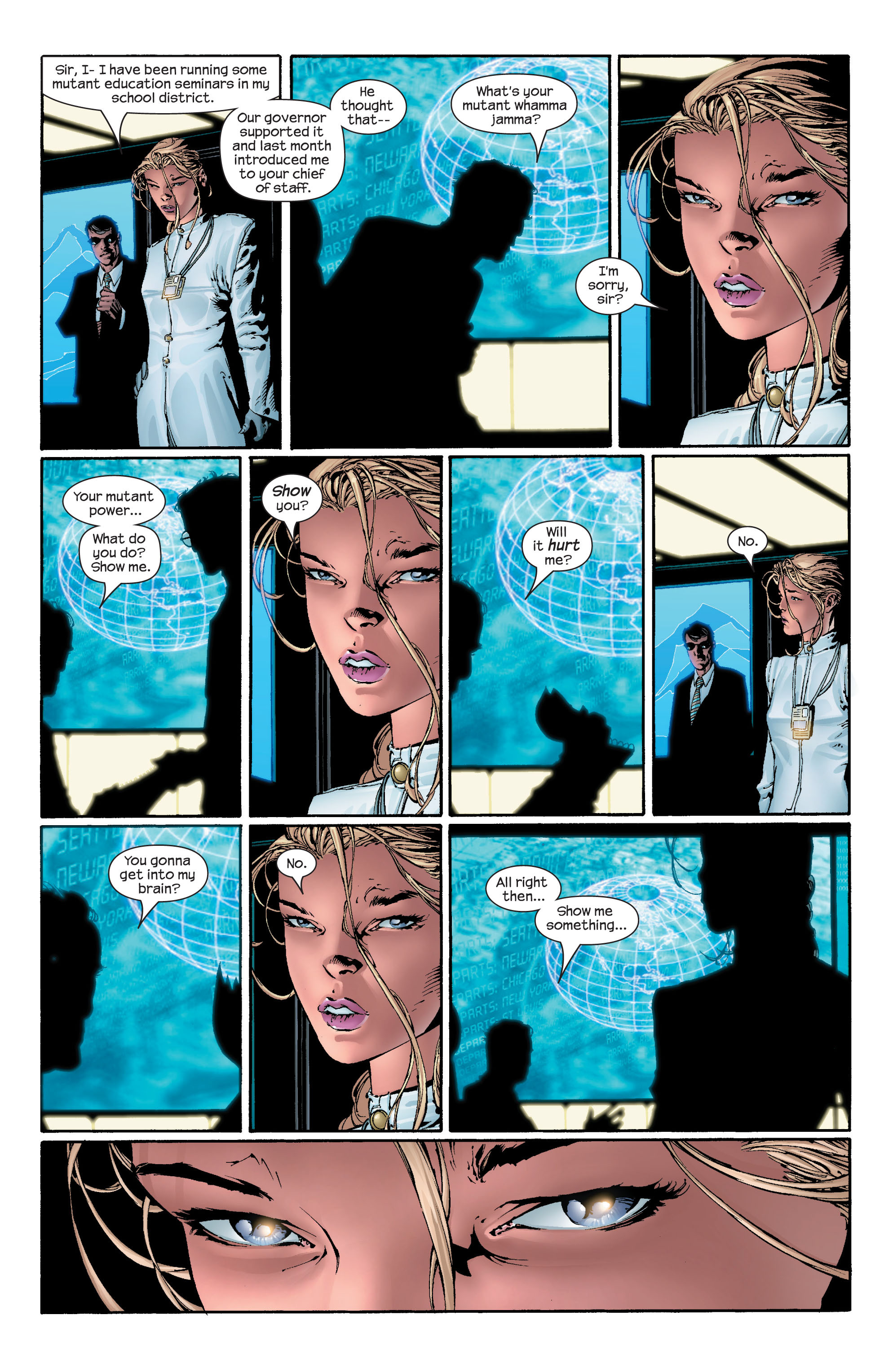 Read online Ultimate X-Men comic -  Issue #43 - 7