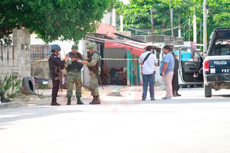 Acribillan a presunto vendedor de droga, en Cancún