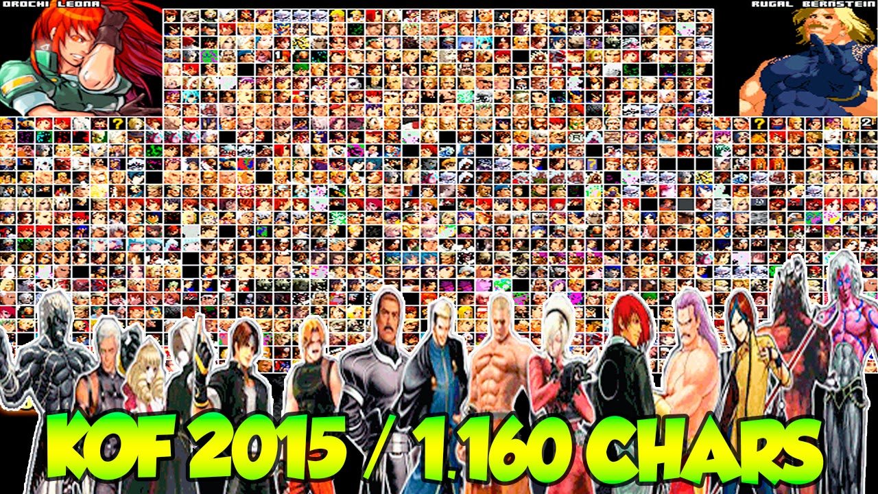 Summary -> The King Of Fighters Anthology Mugen Edition Characters