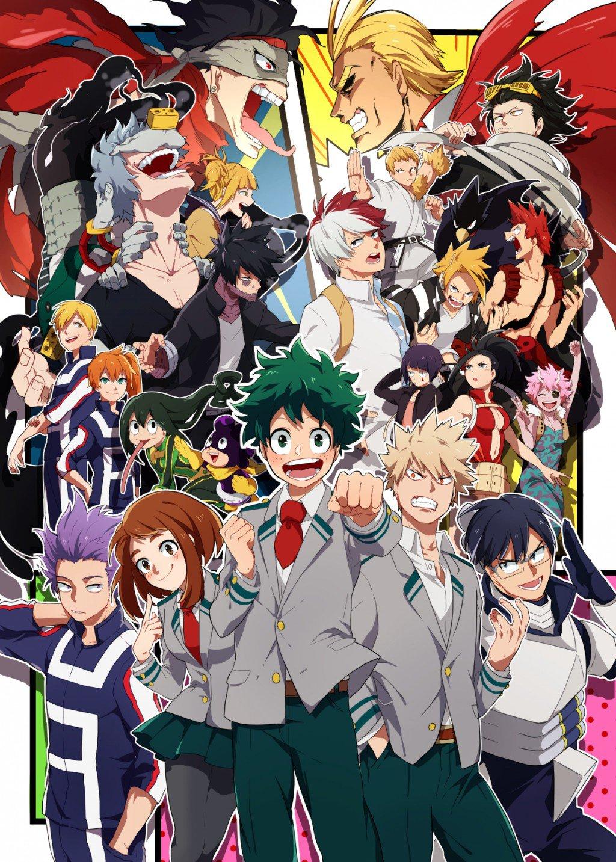 Curiosidades sobre o anime boku no hero academia my hero academia az curiosidades - Boku no hero academia two heroes online ...