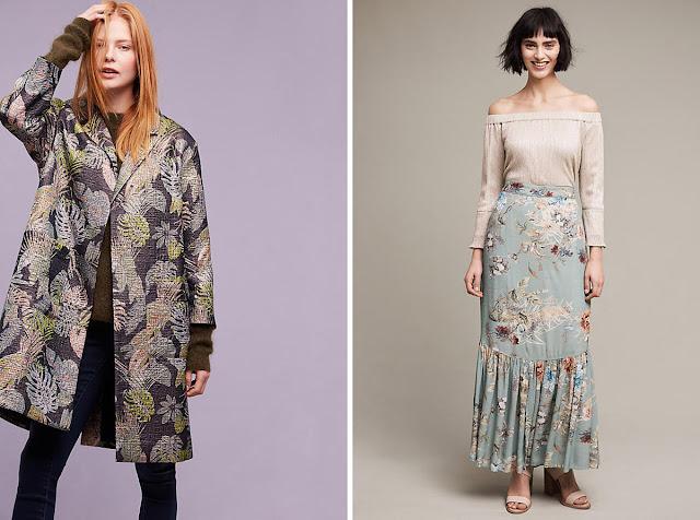 Комплекты с контрастными цветами в одежде