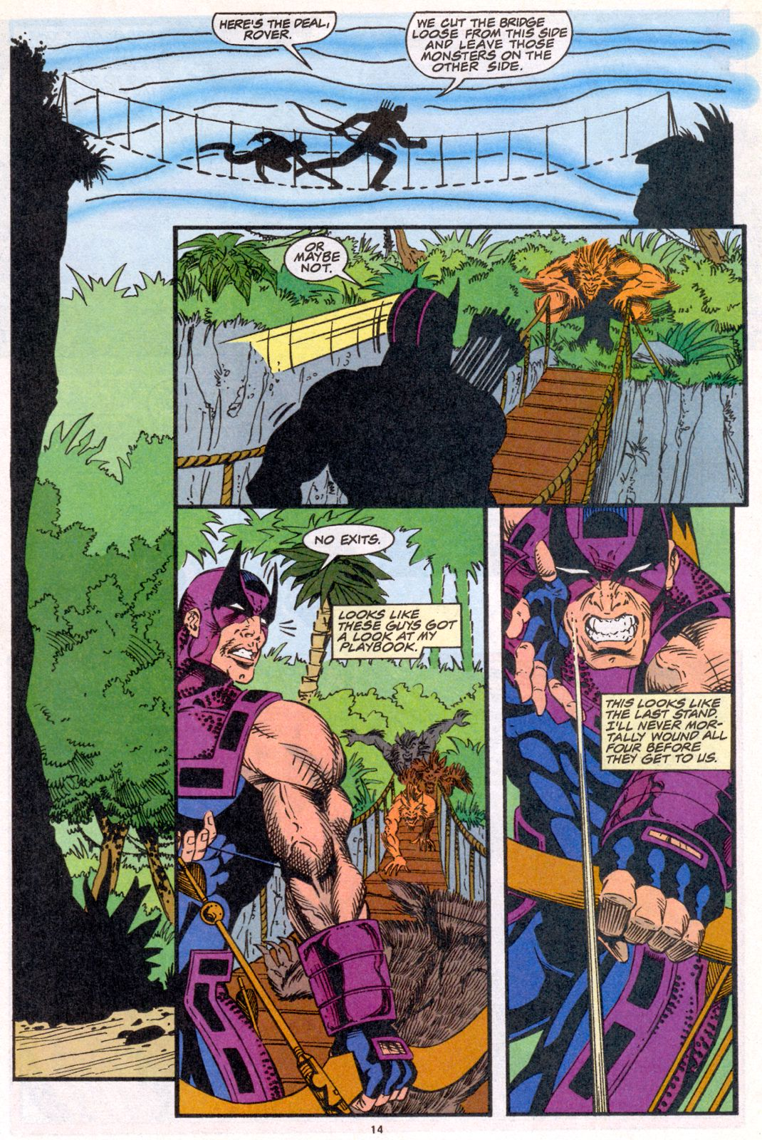 Hawkeye (1994) Issue #4 #4 - English 12