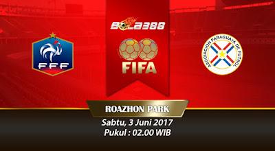 Bandar Agen Bola Online Terlengkap - Prediksi Pertandingan Persahabatan, Prancis vs Paraguay 3 juni 2017