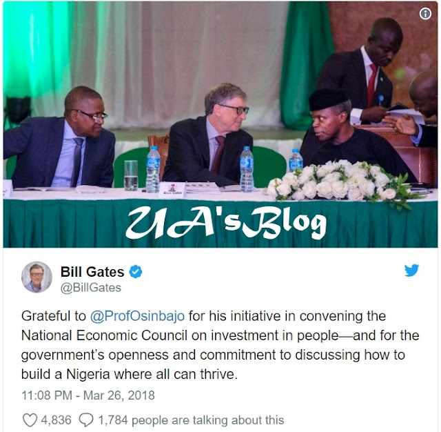 Why Nigerian Leaders Should 'Face Facts' So They Can Make Progress - Bill Gates's CNN Interview