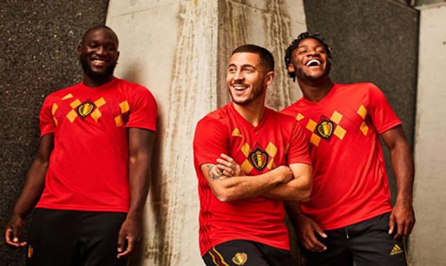 Mengulas Tampilan Jersey Belgia Piala Dunia 2018 di Rusia yang Harus Anda Ketahui