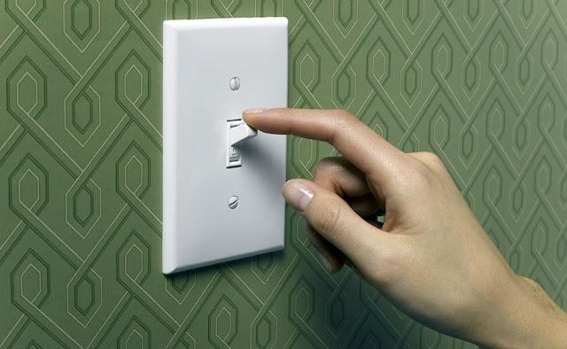 Matikan lampu saat tak dipakai