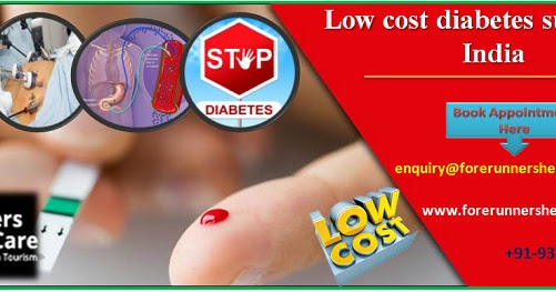 Low cost diabetes surgery in India