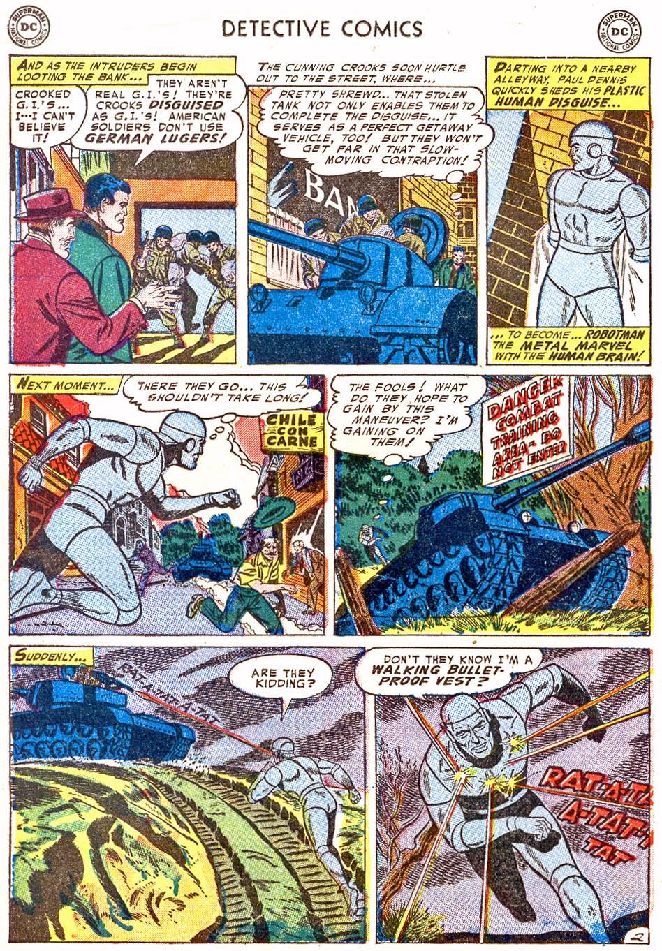 Detective Comics (1937) 202 Page 25
