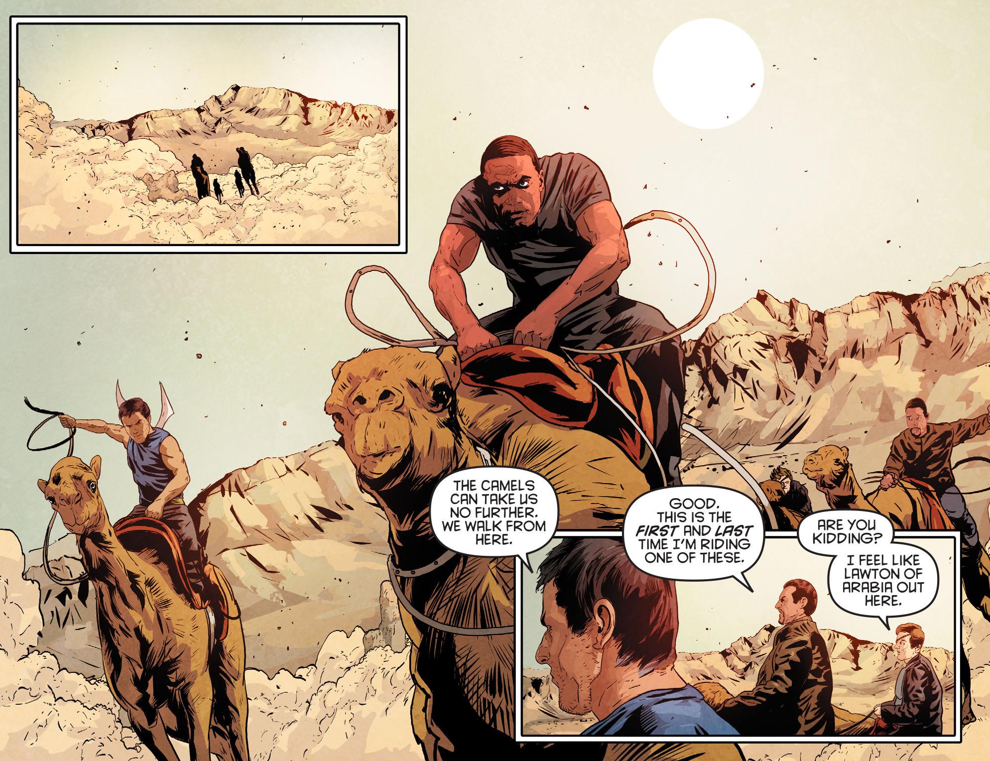 Read online Arrow: Season 2.5 [I] comic -  Issue #12 - 11