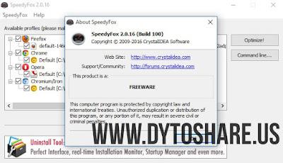 SpeedyFox 2.0.16 Build 100