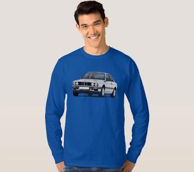 BMW E30 pitkähihainen paita