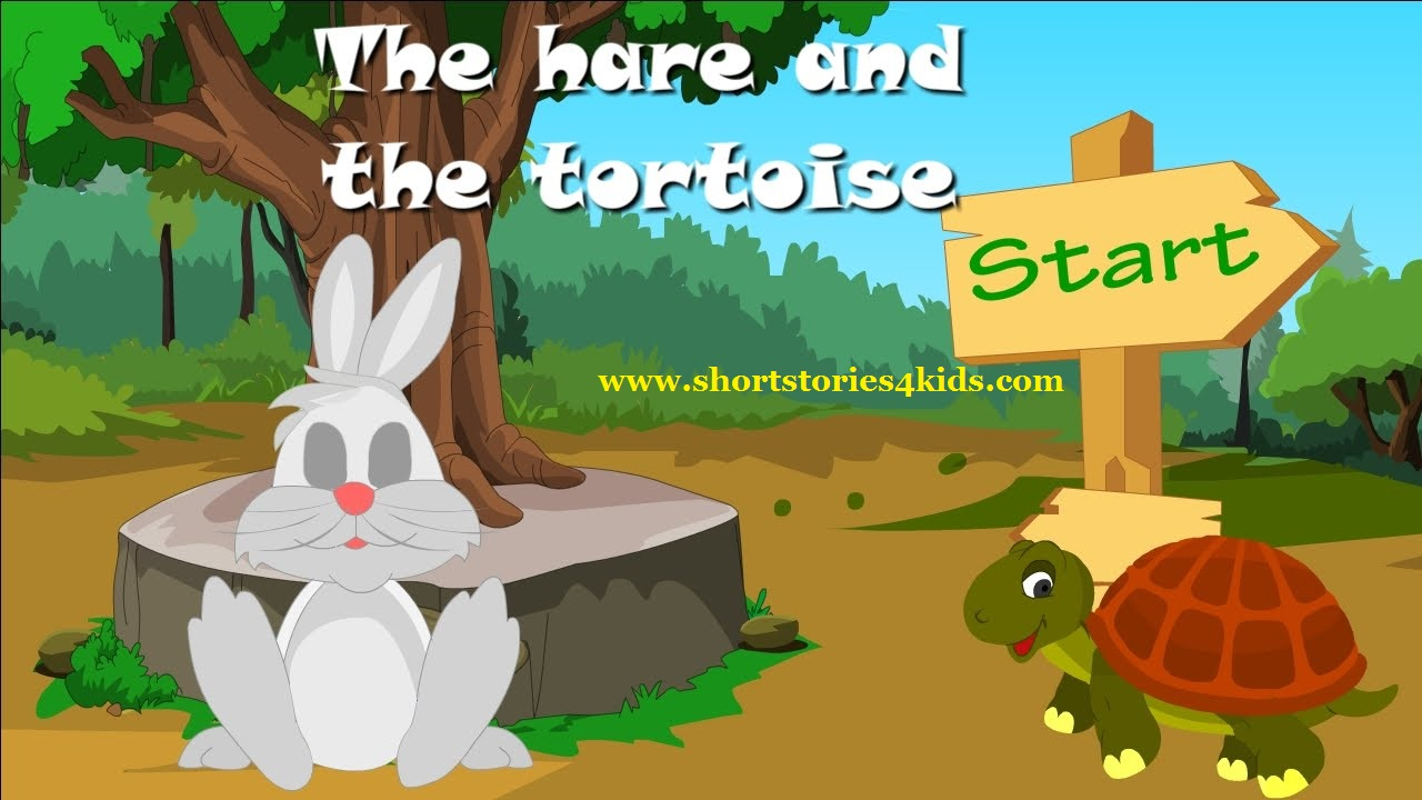 The Hare And The Tortoise English Short Stories For Kids Short