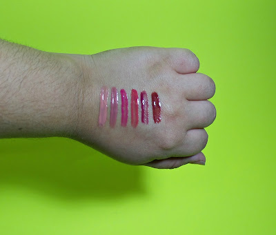 Lorac Lipgloss Swatches