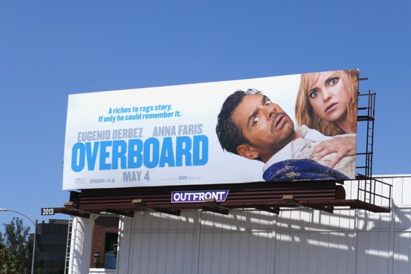 Overboard movie remake billboard