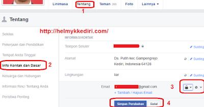 akun facebook terbukti berhasil