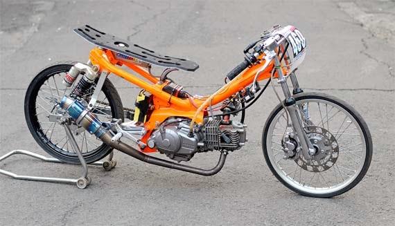 Gambar Motor Drag Vega R