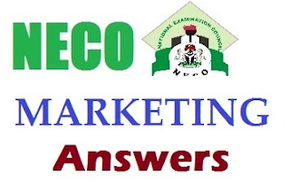 NECO 2017 Marketing Questions/Answers [Objective and Theory]