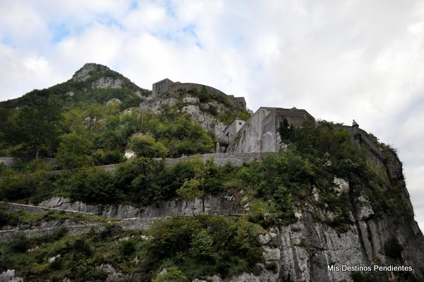 Fuerte del Portalet (Valle de Aspe, Pirineo Francés)