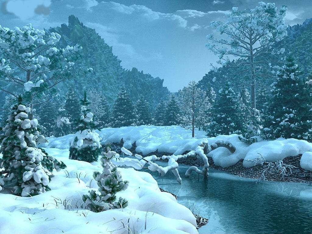 Free desktop background wallpapers christmas winter - Nature background pictures for computer ...